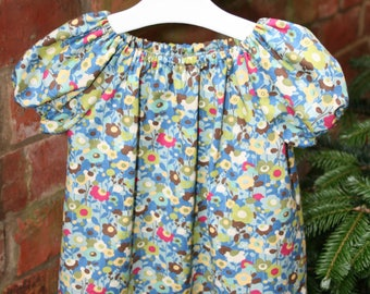 Little girls peasant style top