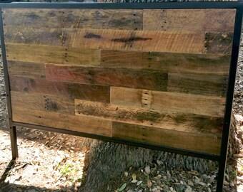 Rustic Headboard, Reclaimed Wood Headboard, Bed Board, Farmhouse Bed, King Size, Queen Size,Wooden Headboard, Bedroom Furniture