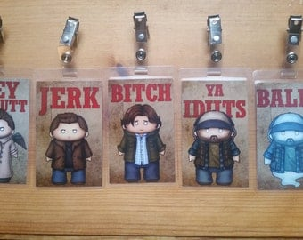 Supernatural Badges