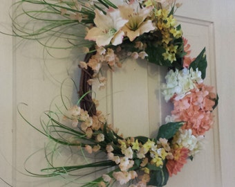 Grapevine Spring Summer Wreath