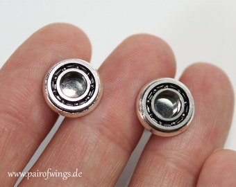 Cufflinks ball bearings, for mechanics, car enthusiasts, engineers, Mr jewelry for men including jewelry box