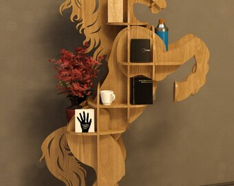 Horse Table 3D model,animals ,CNC ,decoration,decorative ,art, shelf ,interior,souvenir ,wood, wooden, vector graphics,laser,DXF,