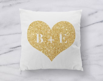 "Personalized Throw Pillow - Personalized Pillow Cover - 18"" - 18x18 - Custom Throw Pillow - Custom Pillow Cover - Valentines Day Gift  001"