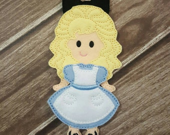 Alice in Wonderland: Felt Doll