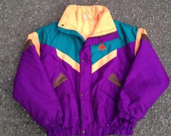 Vintage Audvik French Paralèlle Ski Jacket-mens wear-