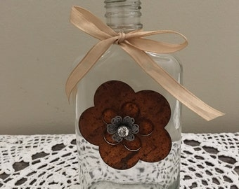 Decorated Flask Bottle
