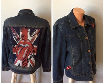 ONE Of A KIND Rolling Stones jacket   Size LG
