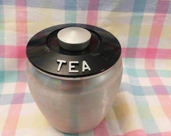 KROMEX TEA CANISTER vintage 1950s