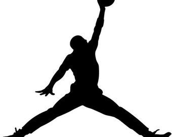 Air Jordan Basketball Decal Sticker