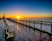 Penarth Pier at sunrise...