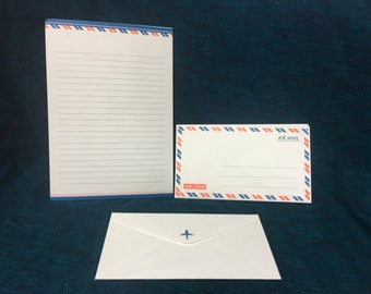 Air mail letter set stationery from japan