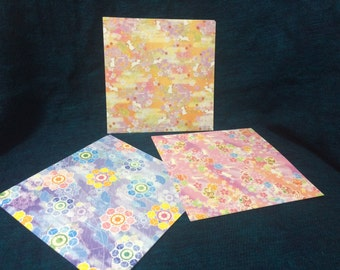 Beautiful Japanese Origami Paper 24 Sheets