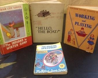 Set of Vintage Kids Books