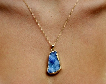 Ocean Crystal Necklace