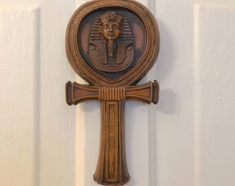 Pharaoh King Tut Egyptian Ankh Cross