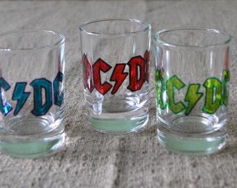 AC\DC Rock Shot glass
