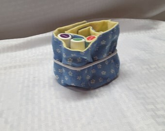 Essential oil fabric totes for storage / travel