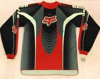 Vintage FOX RACING INC Long Sleeve Jersey
