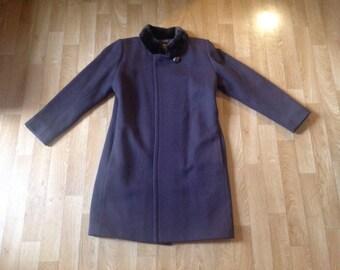 Vintage Yves Saint Laurent fur coat