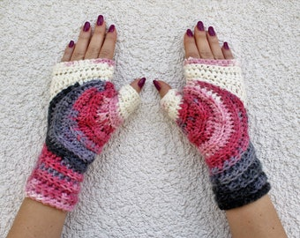 Womens Fingerless Gloves, Fingerless Mittens, Fingerless Gloves, Crochet Fingerless Gloves, Knitted Mittens, Mittens, Crochet Mittens