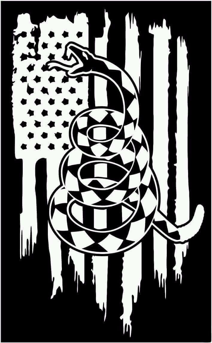 American Flag Gadsden Flag Don T Tread On Me Rattlesnake