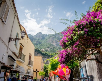 Positano, Italy Photography, Positano print, Colourful Italy, Italy Photo, Positano Wall Art, Italy Print, Positano Photo, Italy Wall Art