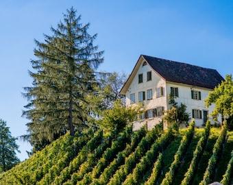 Switzerland Photography, Architecture Art, Fine Art Photography, Home Decor, Switzerland Print, Switzerland Wall Art, Switzerland Photo,