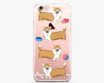 Funny Corgi Case For Samsung Galaxy s7 LG G5 Case Dog iPod Touch 6 Case For Samsung Galaxy j5 Clear Case iPhone 6s Case Google Pixel AC1140