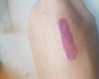 Strawberry lip gloss. Vegan friendly