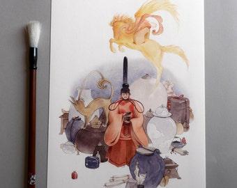 Takara - Fine Art Print