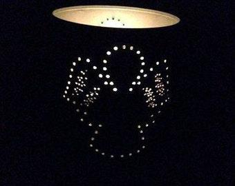 Angel Tin Can Lantern