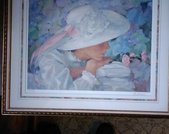 Reflections in Pastels-Silent Whispers by Al Burell