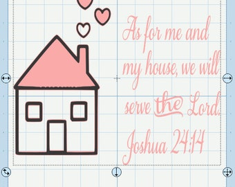Joshua 24:14 Bible verse SVG