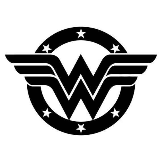 Vinyl Decal Sticker - Wonderwoman Decal for Windows, Cars, Laptops, Macbook, Yeti, Coolers, Mugs etc