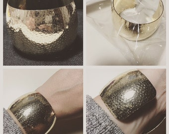 Gold colored bangle
