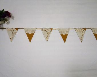 wedding garland, shabby chic wedding bunting, twine wedding bunting, twine bunting, shabby chic garland, wedding decor, wedding prop,