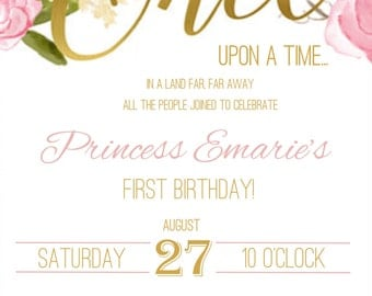 Birthday, Shower Invitation