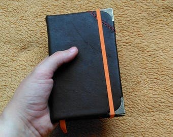Pocket Notebook. Agenda. Travel book. Secretary. Little Life Journal