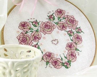 Once Upon a Rose Heart (PDF pattern)