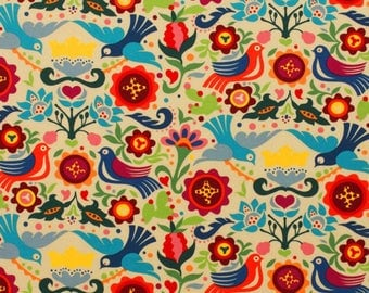 The Pigeon Tea Alexander Henry Fabric Patchwork Cotton Fabric Fabric Mexican  Fabric For Dress Doves Pigeons