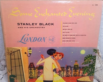Stanley Black and His Orchestra Some Enchanted Evening Vinyl