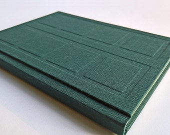 Green/Grey Door Notebook Relief Cover