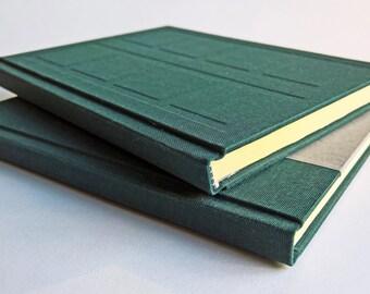 Green/Grey Door Notebook Set Relief and Paper Cover