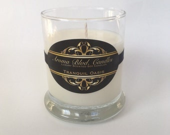Tranquil Oasis Scent 10oz Soy Candle