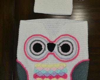 Baby Owl Swaddle Wrap