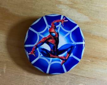 SUPERMAN PIN: Superman Button Pin - Great Gift!