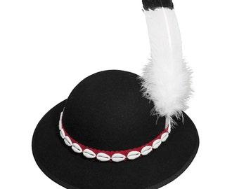 Highlander hat Polish Zakopane cap folk handmade