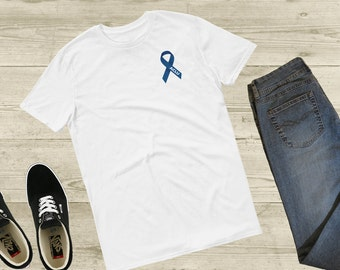 ACLU Ribbon T-shirt; I Support the ACLU t-shirt; ACLU Ribbon; A Portion of the Proceeds Are Donated to the American Civil Liberties Union