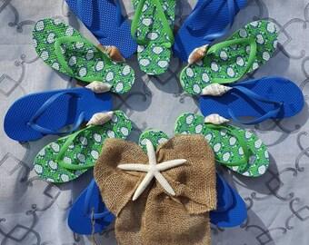 Handcrafted Flip Flop wreath