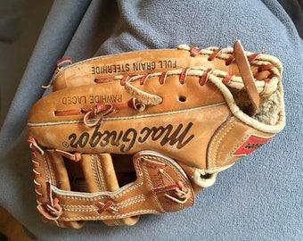 Macgregor MG 50 steerhide softball glove baseball mitt